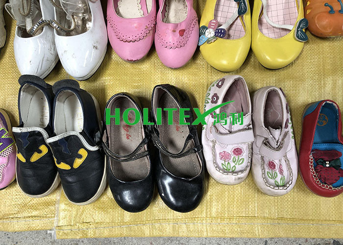 Beautiful Used Children'S Shoes First Grade Second Hand Leather Shoes For Summer
